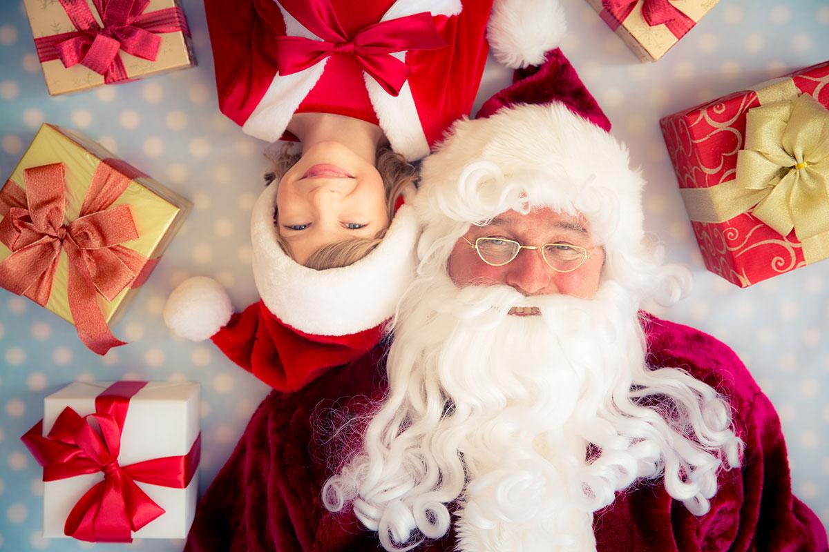 ¡Qué viene Papá Noel!